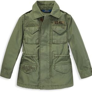Polo Ralph Lauren girl's 6 twill military jacket